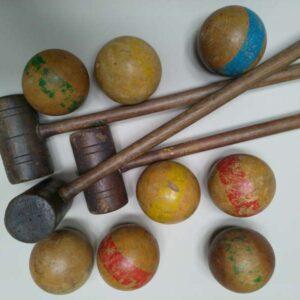 Croquet spel