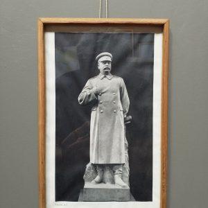 Foto Stalin in lijst