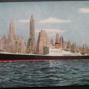 34 ansichtkaarten van de rederij Hamburg Amerika Linie