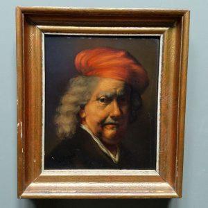 Zelfportret Rembrandt (naar Rembrandt)