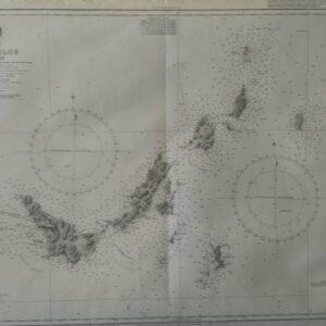Admiralty kaart Skopelos
