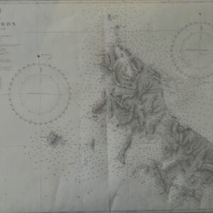 Admiralty kaart Skyros