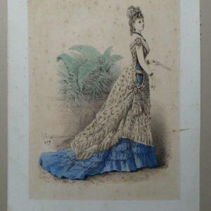 Litho voor L'élégance Parisienne