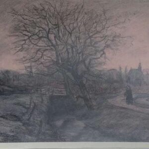 Heliogravure naar een schilderij van J.M. Graadt van Roggen 102/250