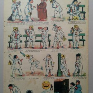 Gordinne strip no. 139, Pierrot en de flesch