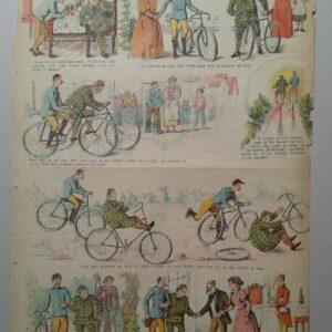 Gordinne strip no. 181, Een plezierreisje per rijwiel
