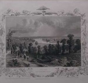 Gravure , View from Richmond hill
