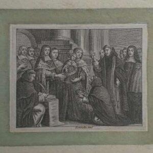 17de eeuwse gravure door Adriaen Lommelin
