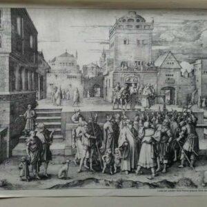 Gravure, Ecco Homo, Lucas van Leyden