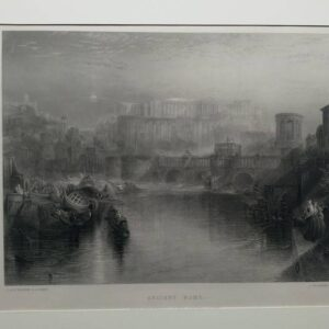 Ancient Rome, after J.W.M. Turner