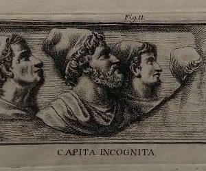 Gravure, Capita incognita, door Niccolò Mogalli