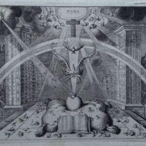 Gravure, Heilige geest door Adriaan van de Venne