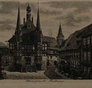Gravure, Rathaus Wernigrode