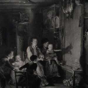 The rabbit on the wall, naar Sir David Wilkie