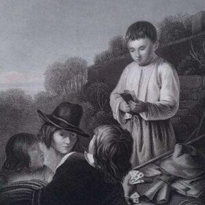 Gravure door A.H. Payne naar een Schilderij van Bartolomé Esteban Murillo