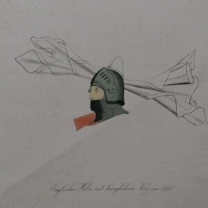 Englischer Helm mit beweglichem Visirum 1315, door Th. Russer