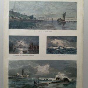 Deutsche Bilderbogen No. 81, Von Stettin bis Cuxhaven, door Hermann Eschke