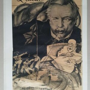 Lithograph, Lloyd George's refreshing wind, by Pieter van der Hem