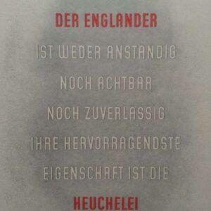 Pamflet, Wochenspruch Der NSDAP 12 Dezember 1942