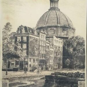 Ets, Amsterdam, Lutherse kerk, door Anton Fransen