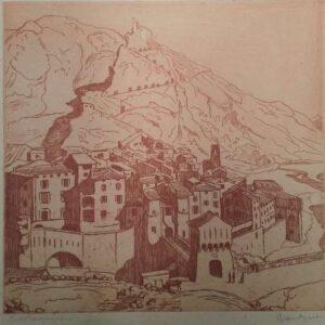 kunstdruk, Entrevaux door VanBart