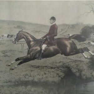 Print, Tom Firr on Whitelegs door Basil Nightingale