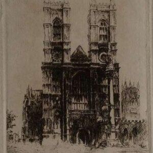 Ets, Notre Dame door Edward Cheney