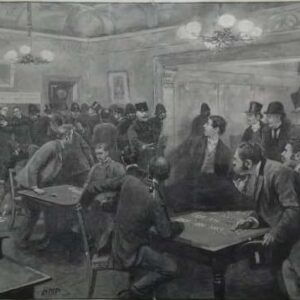 Litho, a police raid on a west-end betting club