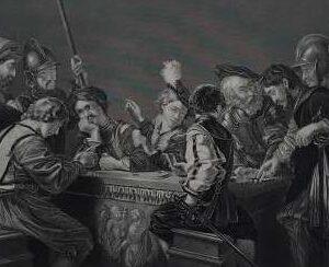 Gravure, Römische Soldaten door A.H. Payne
