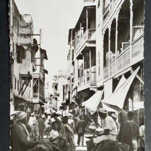 Set van 3 briefkaarten in zwart-wit, met als onderwerp Marokko