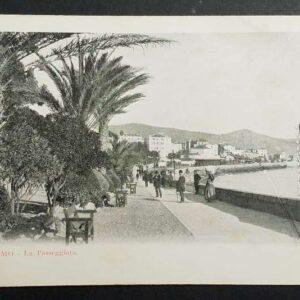 Set van 5 vroege briefkaarten met als onderwerp San Remo