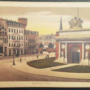 Set van 9 briefkaarten ca. 1910 – 1920 van de stad Wesel