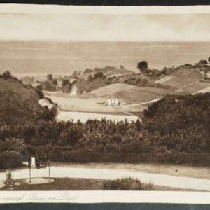 2 briefkaarten met als onderwerp Berg & Dal
