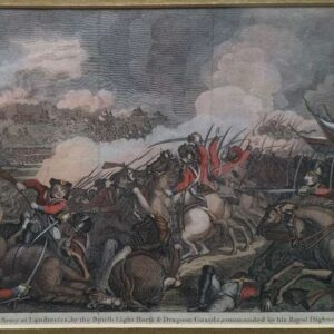 Defeat of the French Army at Landrecies, by the British Light Horse & Dragoon Guards, commanded by his Royal Highness the D. of York