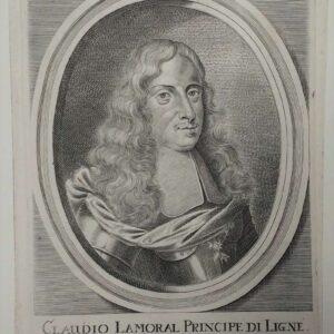 Portret van Claudio Lamoral Principe di Ligne