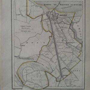 plattegrond gemeente Neuzen