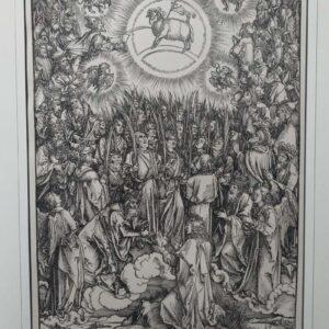 De aanbidding van het lam Gods door Albrecht Dürer