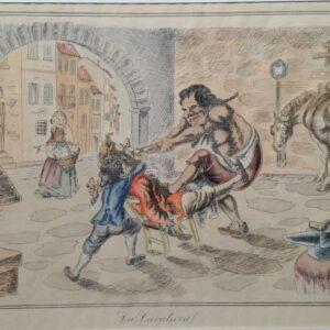 La Cavatural (de kiezensmit) door N.T. Diana