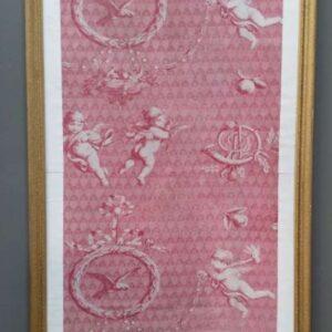 Strook 19de -eeuws wandtextiel
