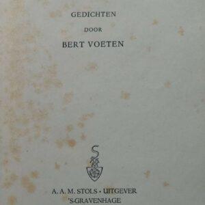 De blinde passagier door Bert Voeten