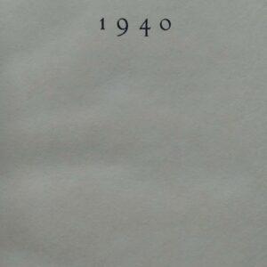 Verzen 1940, P.N. van Eyck