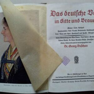 Das deutsche Volk in Sitte und Brauch door Dr. Georg Buschan