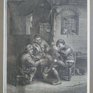 Jan de Moff sijn veel doet spelen naar Adriaen van Ostaden