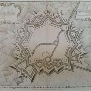 Plattegrond van de stad Aeth