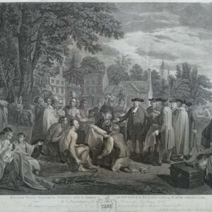 William Penn's treaty with the Indians, when he founded the Province of Pensylvania in North America 1681