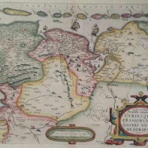 Utriusque Frisiorum regionis noviss descriptio