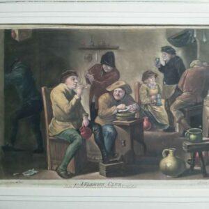Een Vlaamse kroeg, naar David Teniers