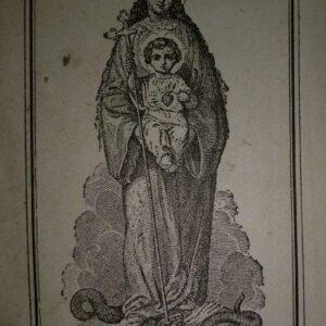 Weg des Hemels, Gebedenboek versierd met oefeningen, litanieën en gebeden
