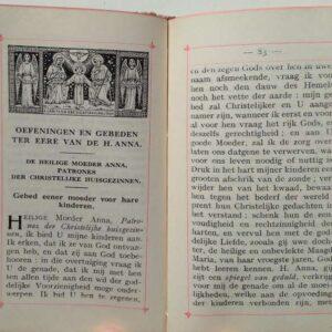 De heilige Moeder Anna, volledig meditatie en gebedenboek