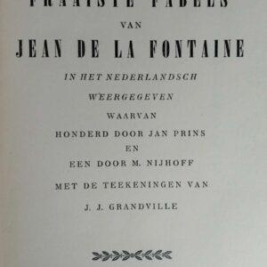Honderd en een der fraaiste fabels van Jean de la Fontaine